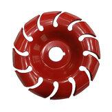 90-миллиметровый 12-зубный диск для резьбы по дереву 18-миллиметровый шлифовальный станок для 100-мм угловых шлифовальных машин