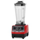 Licuadora de 4500W 2.5L Mezclador de alimentos de cocina de velocidad ajustable Exprimidor de frutas de leche de soja