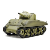 Heng Long 3898-1 2.4G 1/16 US Sherman M4A3 Tank Modelos RC Battle Tank