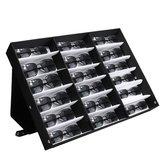 18 Güneş gözlüğü Okuma Gözlükler Gözlük Ekran Stand Depolama Kutu Kılıf Perakende Mağaza