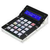 Geekcreit® DIY Calculator Counter Kit Calculatrice Kit de bricolage LCD Calculatrice électronique polyvalente Électronique Calcul avec boîtier en acrylique