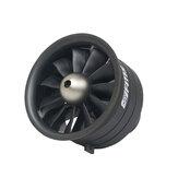 Ventilateur canalisé FMS 64MM EDF 11 blade avec moteur 4S 2840-KV3150 pour Jet d'avion RC à voilure fixe