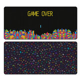 FBB Extra Large Mouse Pad Russian Cube / Icons Anti-slip Rubber Gaming Keyboard Pad 900*400*4mm Desktop Table Protective Mat for Home Office