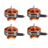 Eachine Tyro89 Spare Part 4 PCS Eachine 1204 6000KV 2-4S Brushless Motor w/ Connector for RC Drone FPV Racing