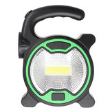 Outdoor Portable COB LED Work Light Flashlight Camping Emergency Flood Light Lantern