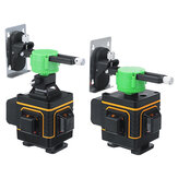 16/12 Ligne 3D Green Light Laser Level Self Leveling 360 ° Rotary Measure Machine