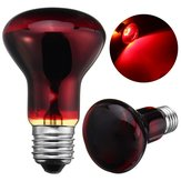 E27 R63 25W 50W 75W 100W Red Nightlight Aquecedor Reptile Light Lamp AC220-240V