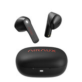 BlitzWolf® AIRAUX AA-UM4X bluetooth V5.0 Half In-ear TWS Earbuds HiFi Stereo Touch Control Earphone Waterproof Headset with Mini Charging Box