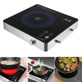 2200W Electric Induction Cooker Cooktop Kitchen Burner Portable Home Countertop Cooker
