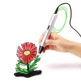 RP800A OLED 3D Printer Pen 5V 2A USB Power 0.6mm Dysza Regulowana prędkość