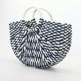 Women Handmade Handbag Casual Beach Bag
