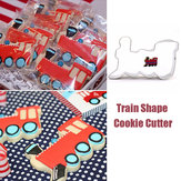 Train Shape Stainless Steel Cookie Cutter Cake Baking Mold