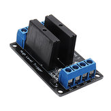 5pcs 2 Channel DC 12V Relay Module Solid State High Level Trigger 240V2A Geekcreit for Arduino - products that work with official Arduino boards