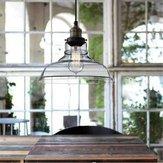 E27 28CM Vintage Industrial Sufitowe szklane lampy wiszące