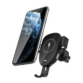 BlitzWolf® BW-CW2 Car 15W Qi Caricatore wireless Morsetto automatico Presa d'aria Supporto per telefono per auto Supporto per auto Rotazione di 360º per 4.0-6.8 Pollici Qi Smart Phone abilitato per iPhone 12 SE 2020 Per Samsung Galaxy Note 20 Huawei