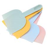 Cortador de ferramentas de panificação Colher de pão de massa multifuncional Raspador de massa de plástico