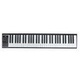 HUASKY KD08 Pro 49/61/88 Keys mobil hordozható elektromos digitális zongora elektromos billentyűzet