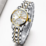 LIGE 10007 Elegant Design Calendar Women Wrist Watch