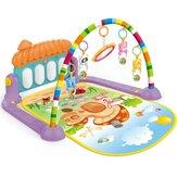 Fitness Frame Foot Harp Baby Newborn Game Pad Dzieci Shake Sound Edukacyjne zabawki wewnętrzne