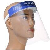 10pcs escudo protetor Máscara anti respingo e saliva escudo facial completo com Banda ajustável