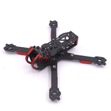 Dragón HX5 X5 220 mm 5 Pulgadas FPV Racing Kit de Marco de Fibra de Carbono 4mm para Dron RC