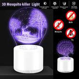 3D Mosquito Killer Light per uso interno Alimentatore USB Nessuna radiazione sicura per i bambini