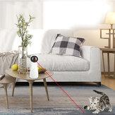 Multi-ângulo automático ajustável Gato Interativo LED Laser Brinquedo Carga USB Com Motor Mudo Brinquedo Engraçado Gato Treinamento Esportivo Brinquedo de Entretenimento