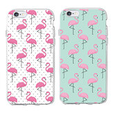 Fashion Flamingo Pattern TPU Anti-scratch Protective Case for iPhone 5S / X / XS / XR / XS Max / 7 / 8 / 7 Plus / 8 Plus