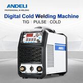 ANDELI TIG-250MPL TIG Welder 220V Intelligent TIG Welding Machine COLD / PULSE / TIG Soldagem Cold Welding Spot Welding Inverter Tig