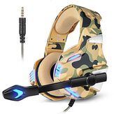 KOTION EACH G7500 Gaming Headset HD Sound Adjustable Microphone Volume Durable Wire for PS3/4 Xbox PC