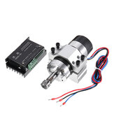 Machifit 400W 12000rpm ER11 Chuck CNC Brushless Spindle Motor with Driver Speed Controller and Clamp