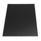 250X420mm 3 K De Fibra De Carbono Placa De Fibra De Carbono Placa Plana Tecer Fosco Folha De Painel 0.5-5mm Espessura