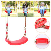 Outdoor Indoor Child Swing Children Adjustable Rope Soft Swing Garden Backyard Hammock Chair Max Load 200kg