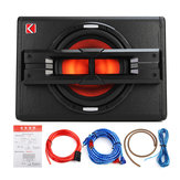 10 '' 1200W Pro Coche Active Subwoofer en caja BASS HiFi Powered Amplificador Amp Sub