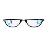 Película de resina Anti-azul Lectura Gafas Presbicia plegable en forma de concha Gafas con almacenamiento Caso