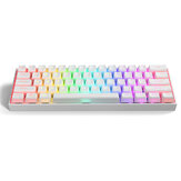 Gamakay MK61 Wired Mechanical Keyboard Gateron Optical Switch Pudding Keycaps RGB 61 Keys Hot Swappable Gaming Keyboard