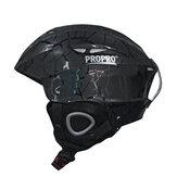 PROPRO Kayak Yetişkinler Kayak Kaskı Snowboard Pateni için Ultralight ABS + EPS Outdoor Spor Kaykay Kaskı