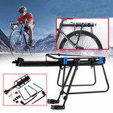 BIKIGHT Alloy Bike Cargo Rack Disassembly Aluminum Alloy Rack Rear Shelf Seat Luggage Bracket Max Load 75kg