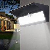 6W zonne-energie PIR Bewegingssensor 46 LED-wandlamp Waterdichte buitentuin Beveiligingslamp