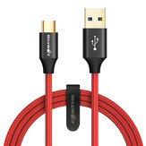 BlitzWolf® AmpCore Turbo BW-TC9 3A Braided Durable USB 3.0 hingga Type-C Pengisian Kabel Data 3ft / 0.9m