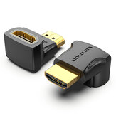 Vention HDMI Male to HDMI Female Adapter Converter 270° Right Angle HDMI 2.0 4K 1080P HDMI Extender Connector