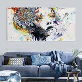 Modern grafika dekoráció lány vászon olajfestmény nyomtatás kép otthoni fal művészeti dekoráció keret nélkül