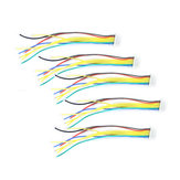 10 PCS FLYWOO 8 Pins SH1.0 8cm Silicone Wire for RC Drone FPV Racing Multi Rotor