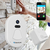 Wireless WIFI Smart Porta Campanello fotografica Anello telefono HD Photo Home Indoor Outdoor