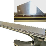 Guitar Neck Steel Straight Edge With Fret Rocker for Luthier Repair Tools