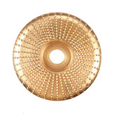 100mm Carbide Wood Sanding Carving Shaping Disc para rebarbadora