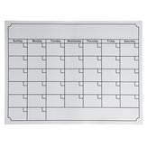 Whiteboard Magnetic Monthly Weekly Planner Calendar Schedule For refrigerator