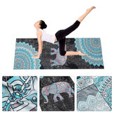 183*63cm Yoga Mats Microfiber Printing Outdoor Indoor Sports Fitness Yoga Mat