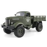 JJRC Q61 1/16 2.4G 4WD Off-Road Military Truck Crawler RC Car