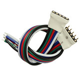 5 Pin Male Female Connector Cable Wire For RGBW SMD5050 LED Flexible Strip Light